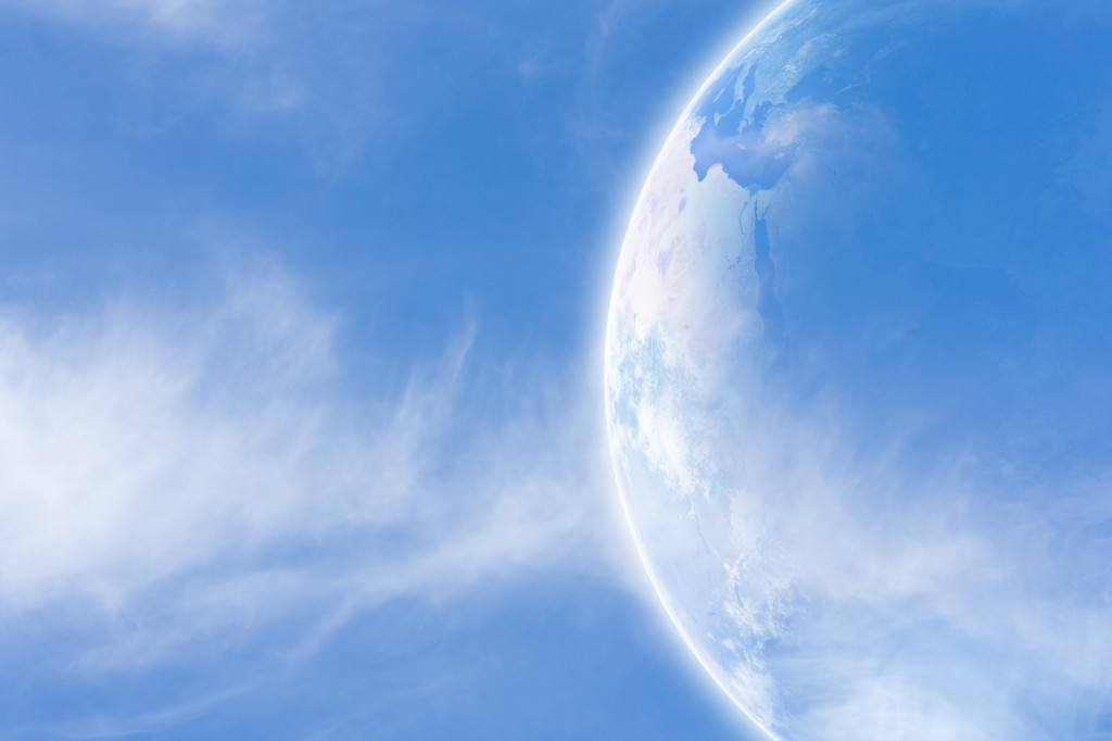 Earth In Space dreamstime_l_18208934