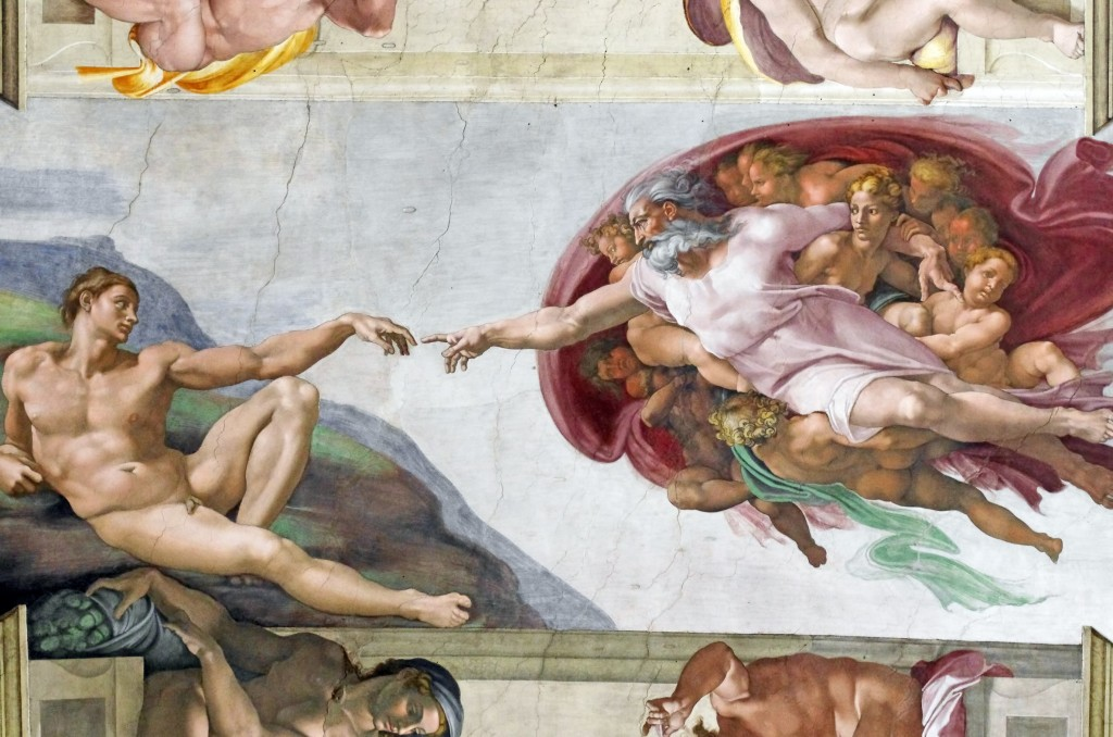 Michelangelo : Divine Guidance dreamstime_l_19808126