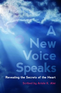 A New Voice Speaks cover only